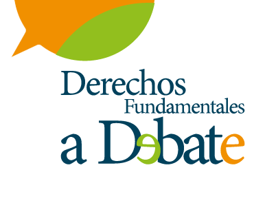 Logotipo revista Derechos fundamentales a debate